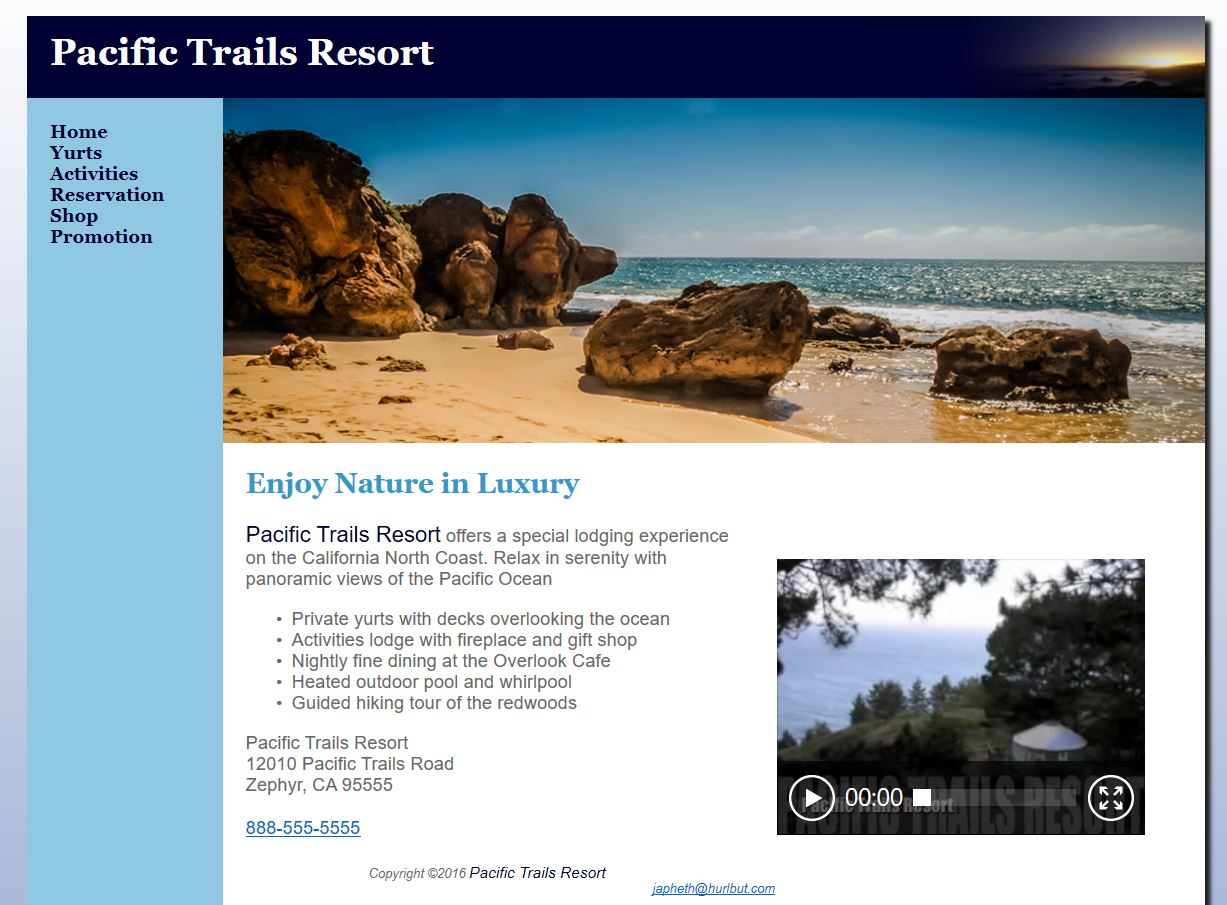 Pacific Crest Trail Resorts